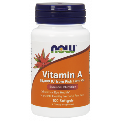 Vitamin A 25 000 IU Softgels (from fish liver retinol)