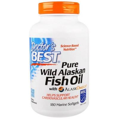 Pure Wild Alaskan Fish Oil with AlaskOmega