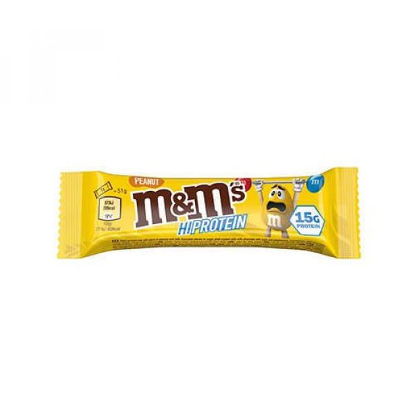 M&M Protein Bar peanut m&m