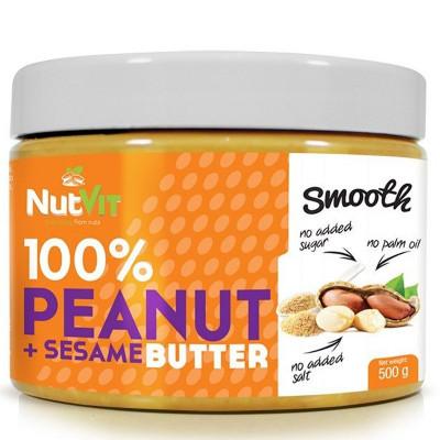 100% Peanut Butter + Sesame