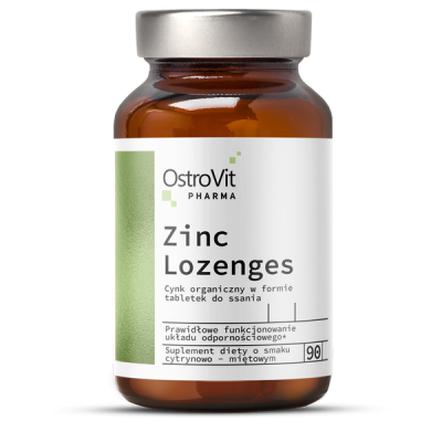 Pharma Zinc Lozenges (cynk do ssania)