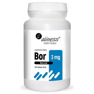 Bor 3mg (kwas borowy)