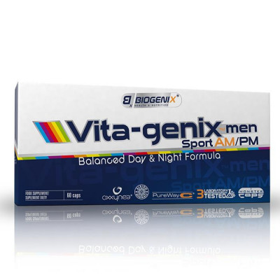 Vita-genix men Sport AM/PM