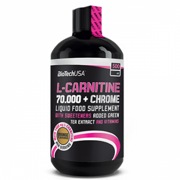 L-Carnitine + Chrome 70 000 Liquid