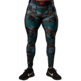 Compression Pants - Skull Camo