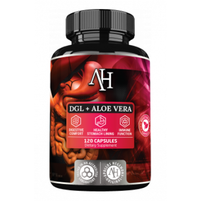 DGL forte + Aloe Vera (lukrecja)