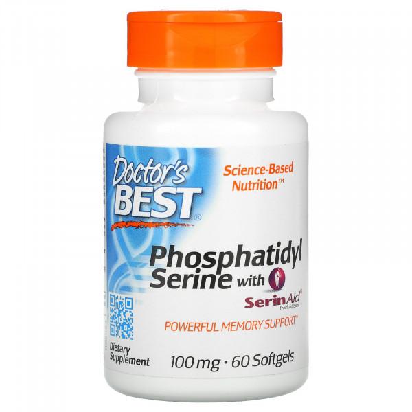 Phosphatidylserine Serine with SerinAid 100mg