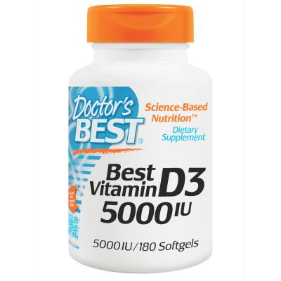 Best Vitamin D3 5000 IU