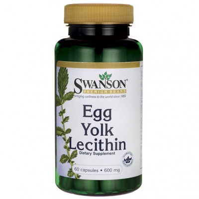 Egg Yolk Lecithin 600mg (lecytyna)