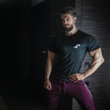 WU&S Testosterone.pl T-shirt Dry-Fit Black