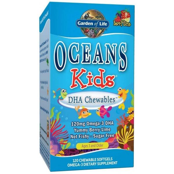 Oceans Kids DHA Chewables Omega 3