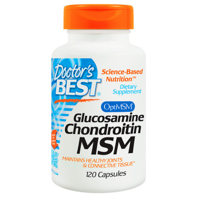Glucosamine Chondroitin MSM with OptiMSM