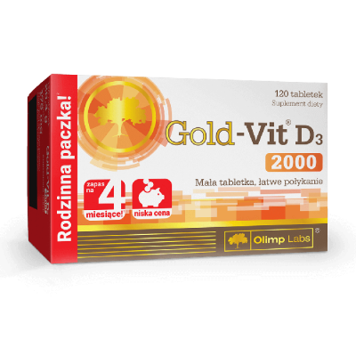 Gold Vit D3 2000