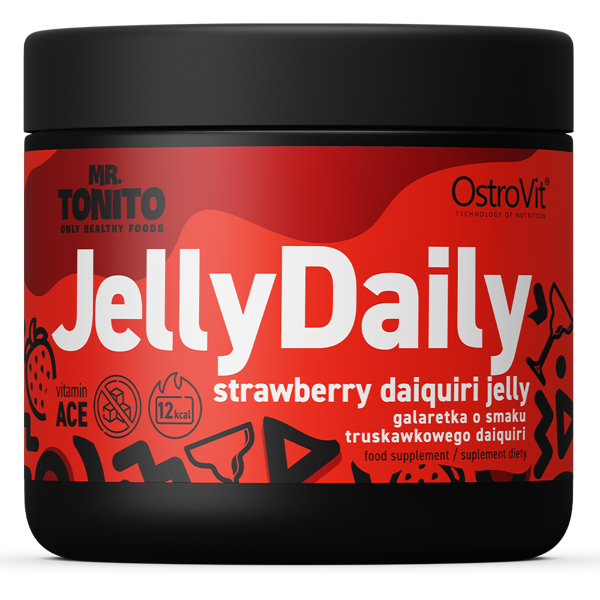 Jelly Daily Strawberry daiquiri