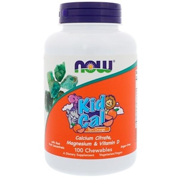 KID CAL (cytrynian magnezu i wapń dla dzieci w ksylitolowych tabsach)