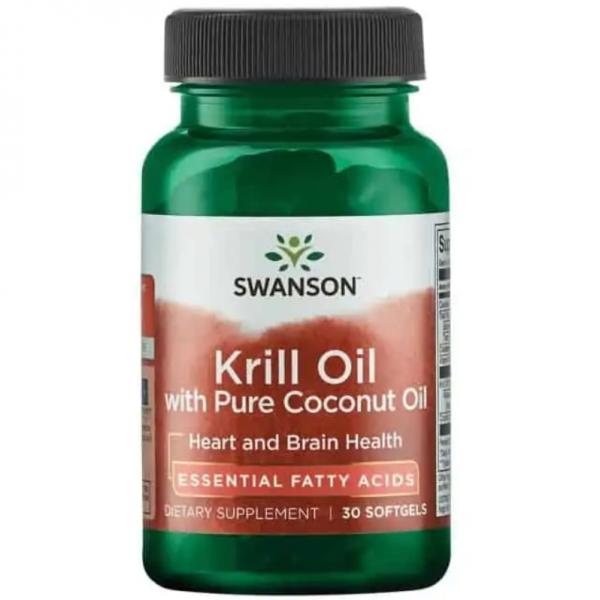 Krill Oil with Pure Coconut Oil