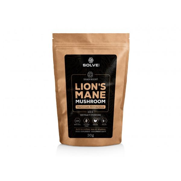 Lions Mane {Soplówka jeżowata) 10:1 Mushroom Powder