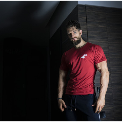 WU&S Testosterone.pl T-shirt Dry-Fit Red