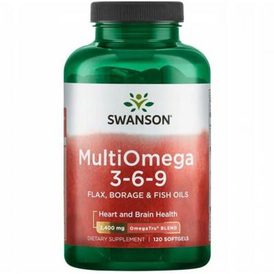 MultiOmega 3-6-9 - Flax & Borage & Fish Oils