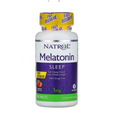 Melatonin Fast Dissolve 1mg
