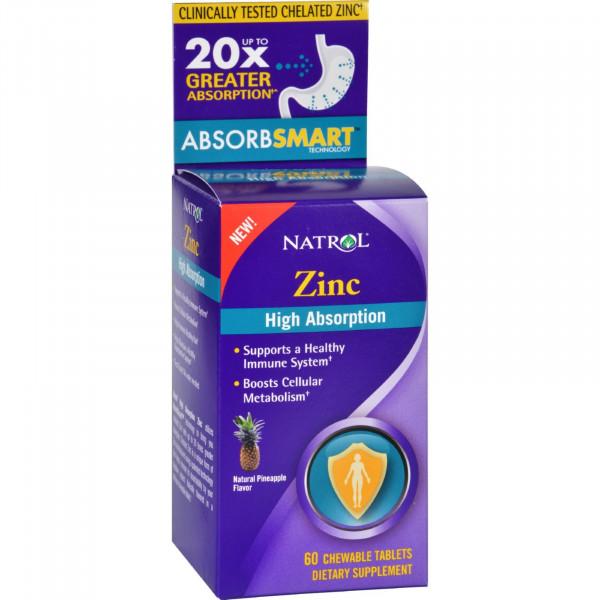 Zinc High Absorption Fast Dissolve