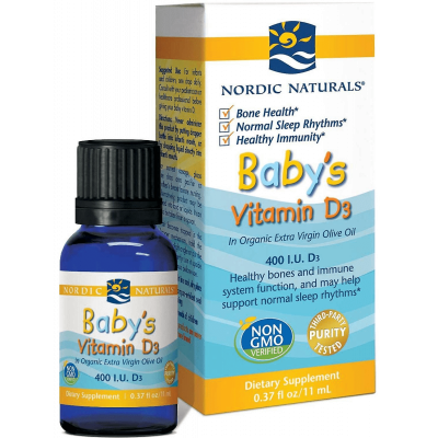 Babys Vitamin D3 400IU