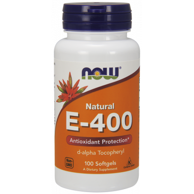 Natural Vitamin E-400 IU