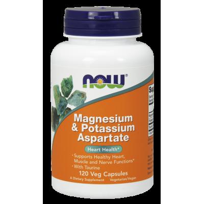Magnesium & Potassium Aspartate with Taurine Capsules