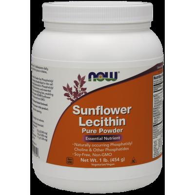 Sunflower Lecithin Pure Powder (lecytyna ze słonecznika)