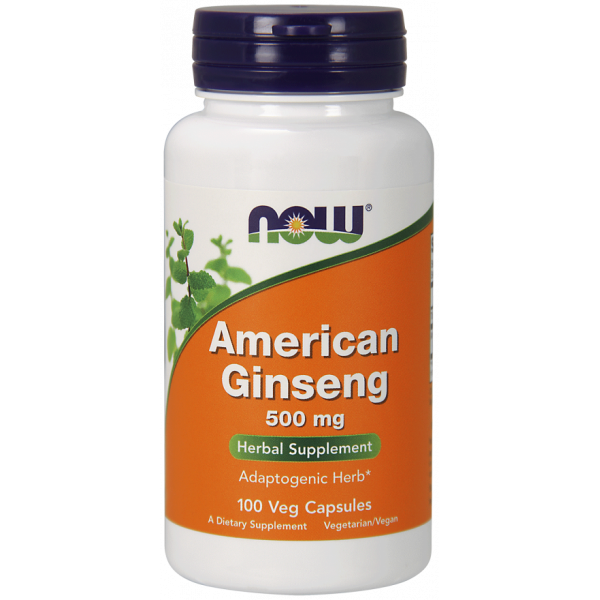 American Ginseng 500mg Veg Caps