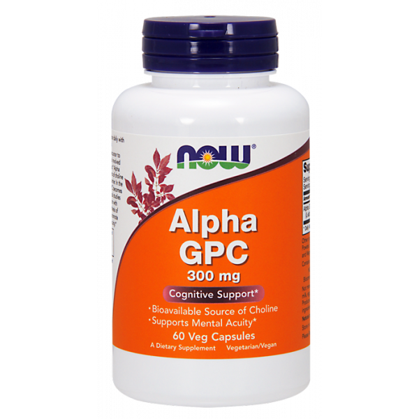 Alpha GPC 300 mg Vegan Caps alfosceran choliny