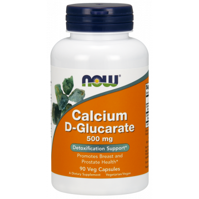 Calcium D-Glucarate 500 mg Veg Caps