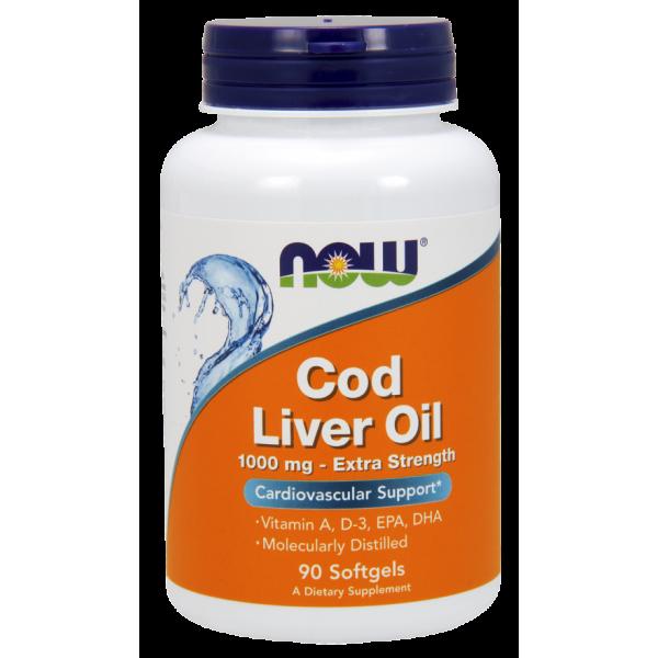 Cod Liver Oil Extra Strength