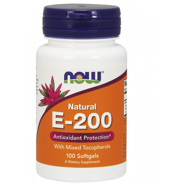 Vitamin E-200 Natural d-alpha tocopheryl