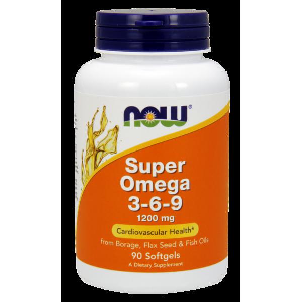 Super Omega 3 6 9 - 1200mg