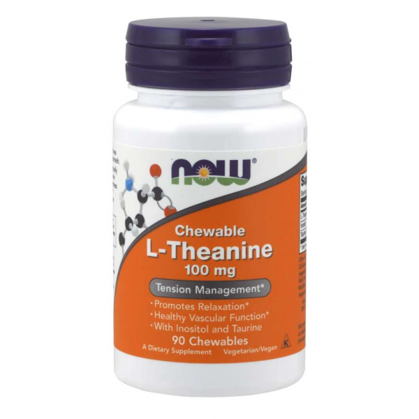 L-Theanine with Inositol and Taurine 100mg