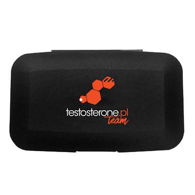 Firmowy Pillbox - TEAM - pudełko na kapsułki tabletki