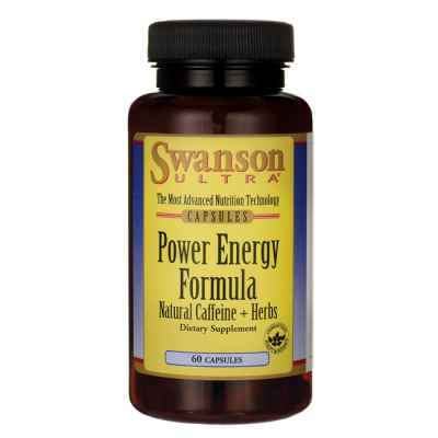 Power Energy Formula - Caffeine + Herbs