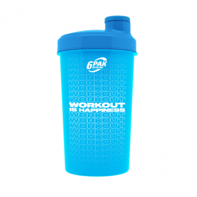 Shaker NEW WORKOUT NEON BLUE