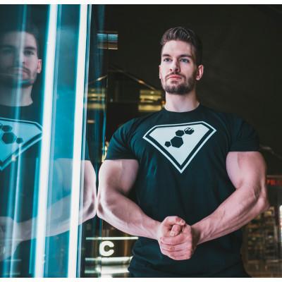 T-shirt SuperTesto WU&S Black