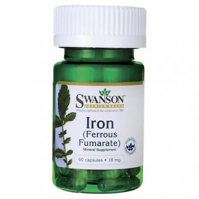 Iron (Ferrous Fumarate) żelazo 18mg