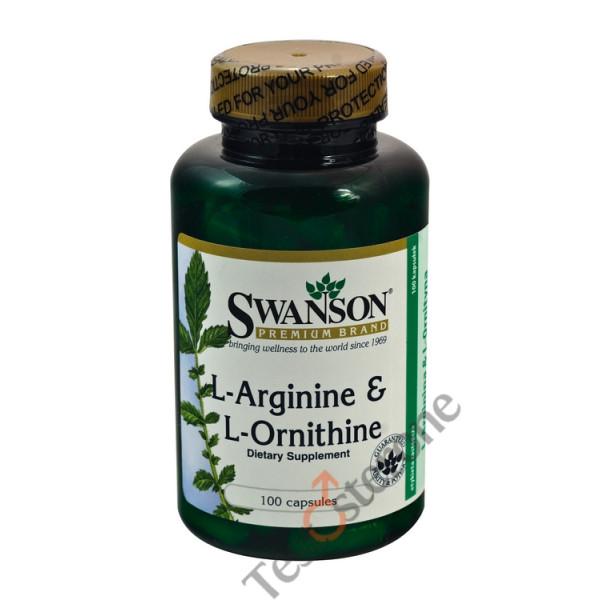 L-Arginina & L-Ornityna