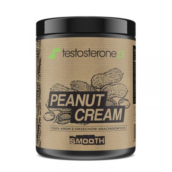 Peanut Cream SMOOTH (masło orzechowe)