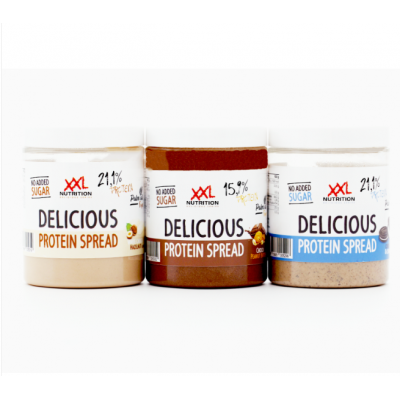 Spread Delicious Protein Cookies Cream
